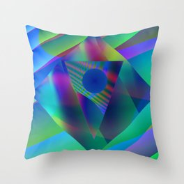 The antipole Throw Pillow