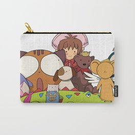 Stuffed Animals (variation) Carry-All Pouch