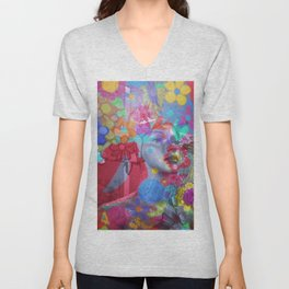 Be Abstract Unisex V-Neck