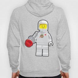 Vintage White Spaceman Minifig Hoody