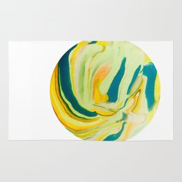 What The World Needs Now. Yellow Marble. Rug