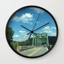 Red Top Wall Clock