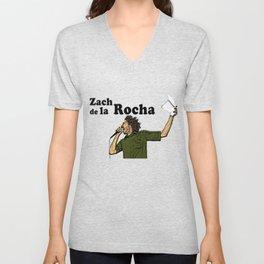 Zach de la Rocha Unisex V-Neck