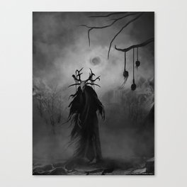 Hungerer in Bone and Tatters Canvas Print