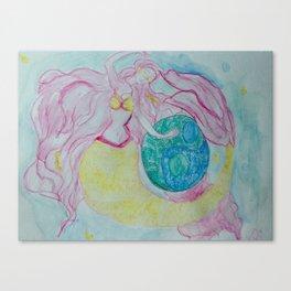 MERMAID OF BALANCE Canvas Print