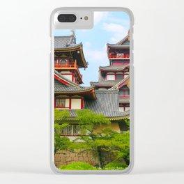 Castle Olden (Fushimi Momoyama) Clear iPhone Case