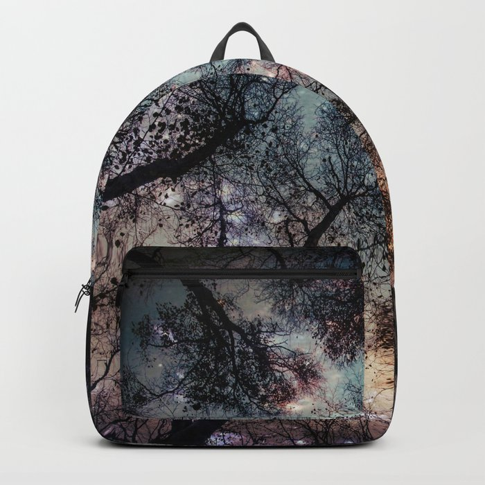 Starry Sky in the Forest Backpack
