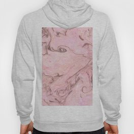 Marbly Pink Hoody
