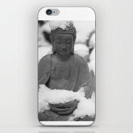 Buddha in Himalaya iPhone Skin