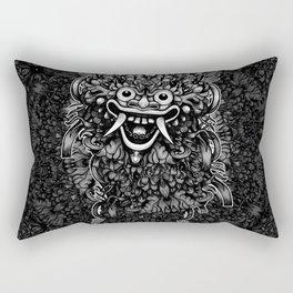 Bali Mask Rectangular Pillow
