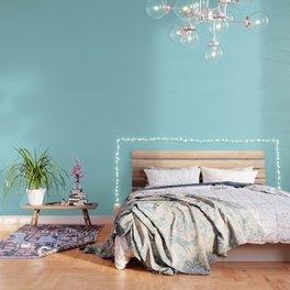 Annas Wish Solid Soft Vivid Blue Wallpaper