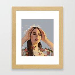 Lana Roses Framed Art Print