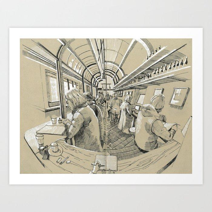 Barbarella Art Print
