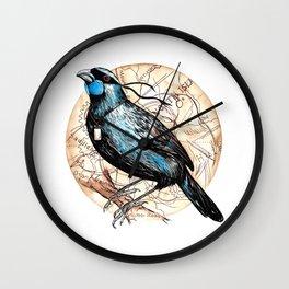 Ninja Kokako Wall Clock