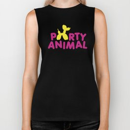 Party Animal Biker Tank