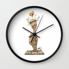 The Mummy Wall Clock