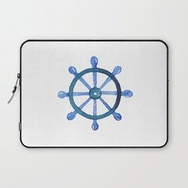Navigating the seas Laptop Sleeve