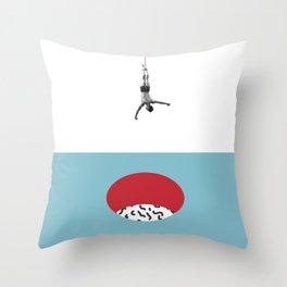 Minimalist. The Hole. Throw Pillow
