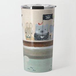 the pirate tub Travel Mug