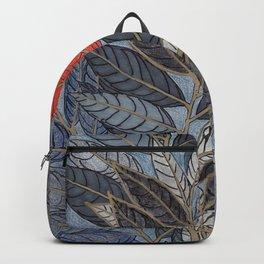 Feuilles Rouges I Backpack
