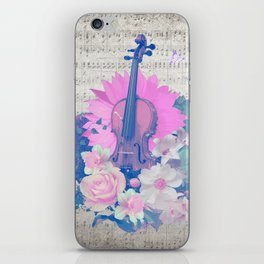"""VIOLIN by collection """"Music"""" iPhone Skin"""