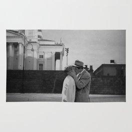 Collage Á bout de souffle (Breathless) - Jean-Luc Godard Rug