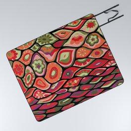 70s psychedelic Picnic Blanket
