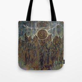 Nebulous Portal Emergence (Electric Gateway) Tote Bag