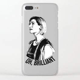 Oh, brilliant Clear iPhone Case