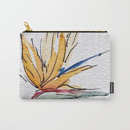 Bright Tropical Flower  Carry-All Pouch