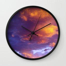 Sunset Dream Wall Clock