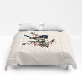 Australian Blue Wren Comforters