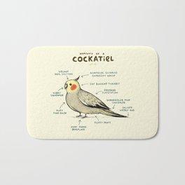 Anatomy of a Cockatiel Bath Mat