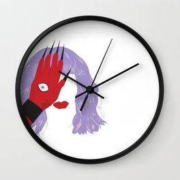 Yekaterina Petrovna Zamolodchikova Wall Clock
