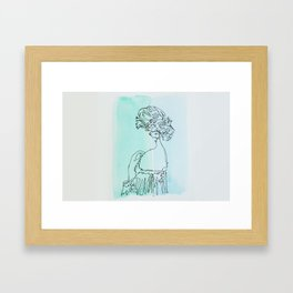 Meredith Framed Art Print