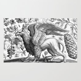 A griffin. Rug