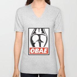 OBAE the booty. Unisex V-Neck