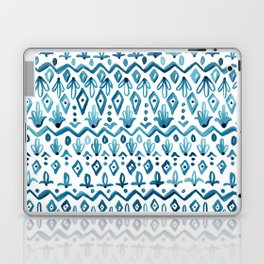Mya Watercolor - White Laptop & iPad Skin