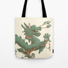 The Night Gardener - The Dragon Tree Tote Bag