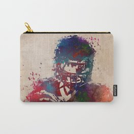 American football player 3 Carry-All Pouch