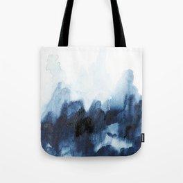 Indigo watercolor 2 Tote Bag