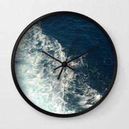 Sea Trails 2 Wall Clock