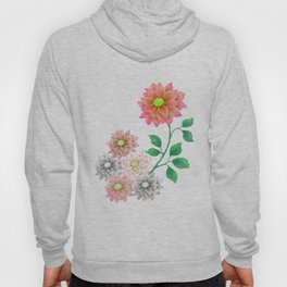 Sweet Dahlias Hoody