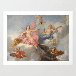 Classical Figures Art Print
