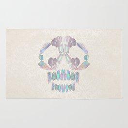 Aurora Quartz Skull Rug
