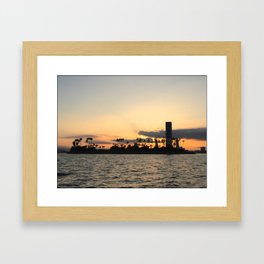 Island Nights Framed Art Print