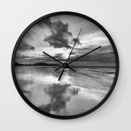Clevedon Beach Wall Clock