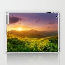 Purple Mountain Sunset Laptop & iPad Skin
