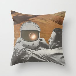 """The lonely"" Throw Pillow"