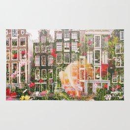 Flowers in Amsterdam Rug